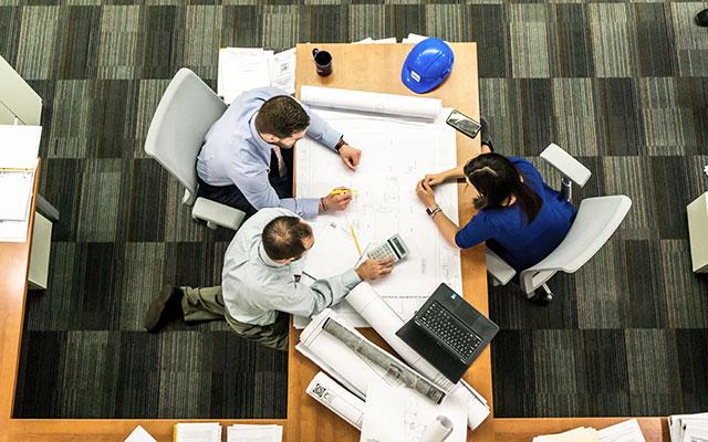 Priprava načrta za kovinsko konstrukcijo