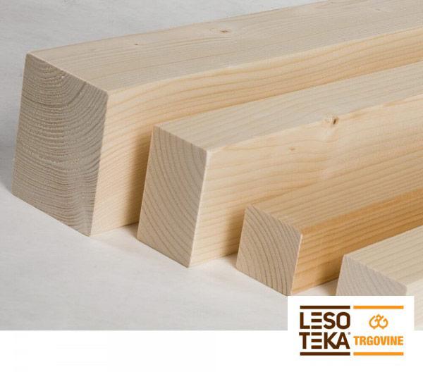 Skobljane lesene letve SMREKA